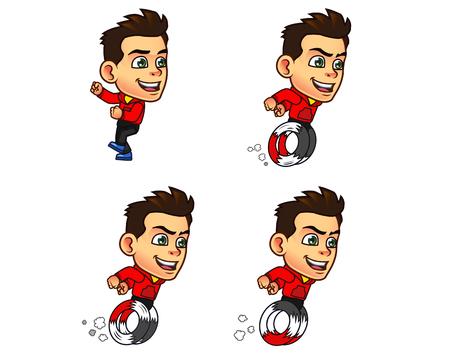 sprite: Parkour Boy Game Sprite