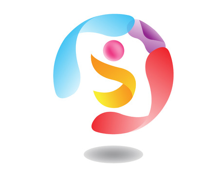 flexible business: Abstract Sphere Logo Template