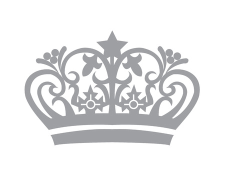 Tiara Crown Logo Ilustração