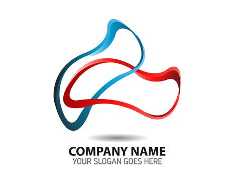 Plantilla Icono elástico Logo Logos
