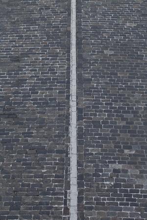 scheidingslijnen: een achtergrond weg met een scheidslijn