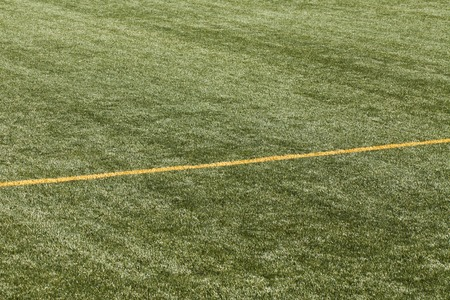 multipurpose: a football pitch with yellow lines