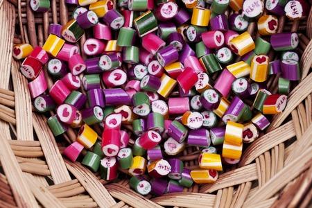 lolli: a background bright candy caramel