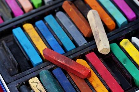 chalks: a chalks closeup beautiful background