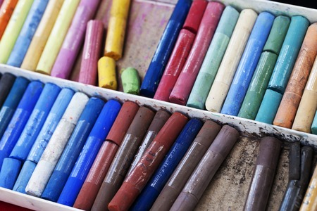 chalks: a chalks closeup beautiful background