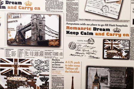 news paper: News paper vintage abstract background
