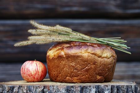 金皮と香ばしい自家製パン