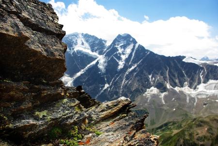 山の風景、美しい自然の背景
