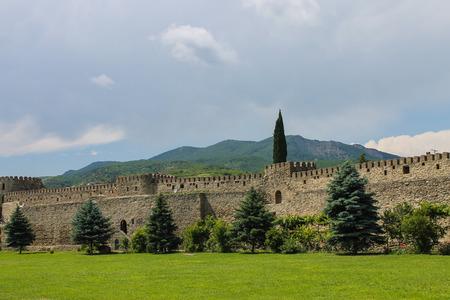 monastery: monastery courtyard