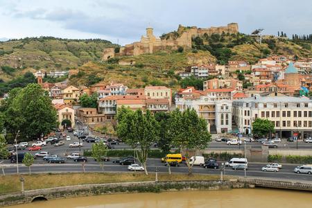 tbilisi: Tbilisi panorama Narikala fortress