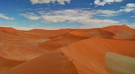 Landscape with sand dunes near Swakopmund, Namibia