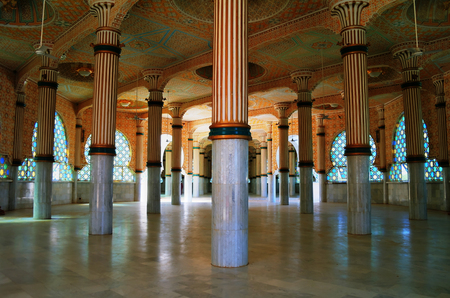 Iinterior of Touba Mosque, center of Mouridism and Cheikh Amadou Bamba burial place, Senegal