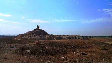 iraq: Ziggurat Birs Nimrud, the mountain of Borsippa in Iraq