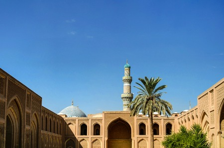 Exterior of famous Al-Mustansiriya University and Madrasah, Baghdad, Iraq