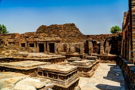 Takht-i-Bhai Parthian archaeological site and Buddhist monastery, Pakistan