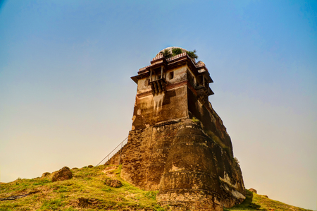 tower of Rohtas fortress in Punjab, Pakistan