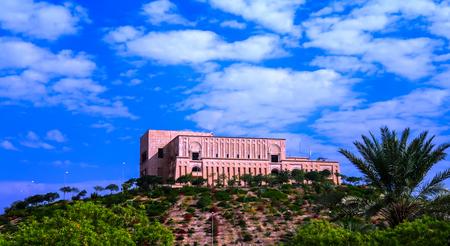 babylon: Former Saddam Hussein Palace ruins, Babylon, Iraq
