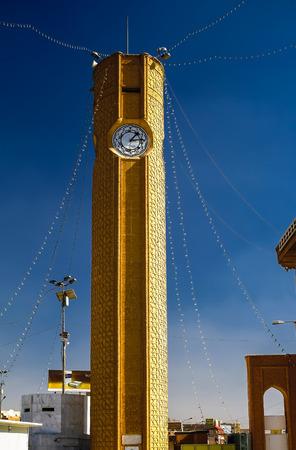 iraq: Clocktower of Abu Hanifa Mosque the in Baghdad, Iraq