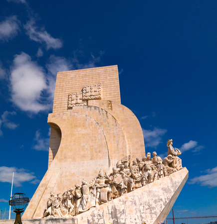 Padrao dos Descobrimentos aka Monument to the Discoveries in Belem, Lisbon, Portugal