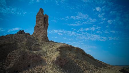 Ziggurat Birs Nimrud, the mountain of Borsippa in Iraq
