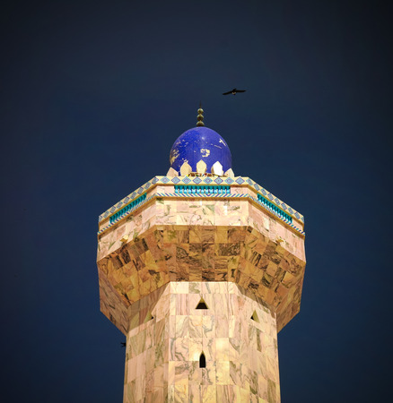 Minaret of Touba Mosque, center of Mouridism and Cheikh Amadou Bamba burial place, Senegal