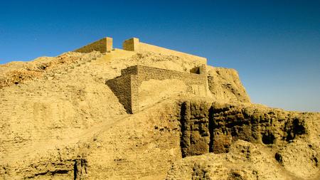 View to Western Deffufa temple, Kerma Nubia, Sudan
