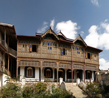 Exterior view to Rimbaud House and Museum - 12-01-2016 Harar, Jugol, Ethiopia