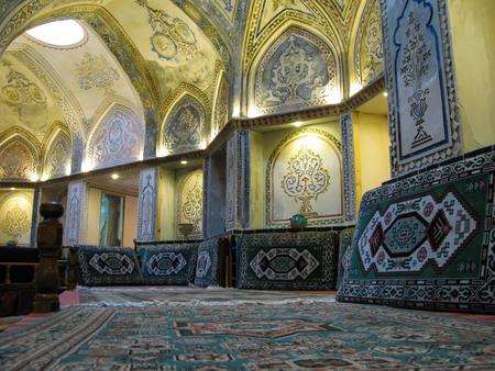 Interior view of Sultan Amir Ahmad Bathhouse - 21-02-2009 Kashan, Iran Editorial