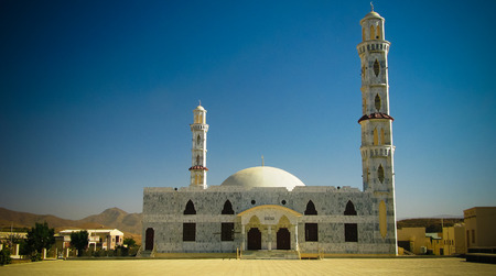 Exterior view of Assehaba Mosque at Keren, Eritrea Stock Photo