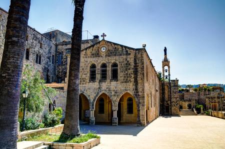 Saydet Al Talle Church at Deir al Qamar in Lebanon