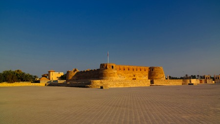 Ruins of Arad fort at Muharraq, Bahrain