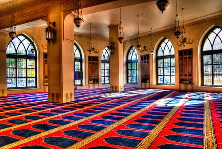 Interior view of Mohammad Al-Amin Mosque -05-05-2012 Beirut, Lebanon
