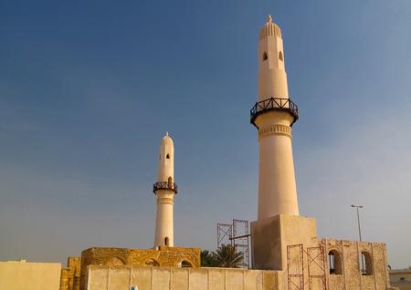 Exterior view to Al Khamis Mosque mosque at Manama, Bahrain