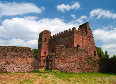 Palace of Iyasu, grandson of Fasilidas in Fasil Ghebbi site at Gonder