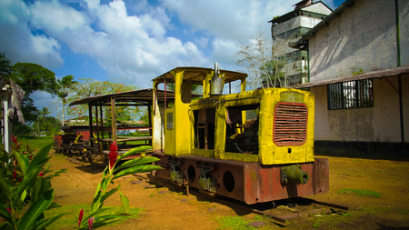 Former rum factory at Marienburg in Suriname