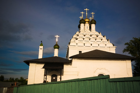 Exterior view to The Church of St. Nicholas Posad at Kolomna, Moscow region, Russia