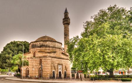 exterior view to Muradie aka Xhamia e Muradies, former Byzantine church in Vlore, Albania