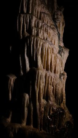 Interior of Postojna cave aka Postojnska jama in Slovenia