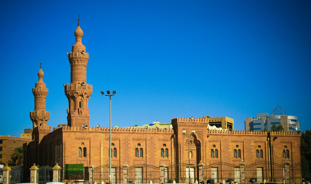 Exterior view to Great Mosque of Khartoum, Soudan