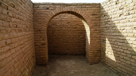 Inside of Abrahams House in Ur at Dhi Qar, Iraq