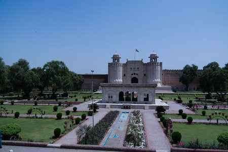 Alamgiri Gate of Lahore fort, Punjab, Pakistan 写真素材