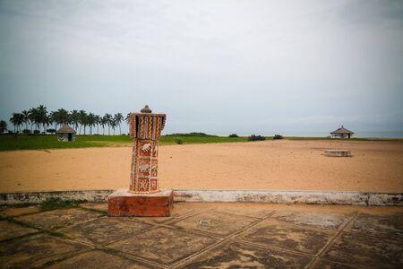 Architecture arch Door of No Return at Ouidah, Benin