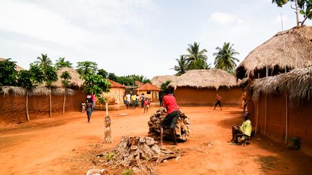 woodoo Village of Ewe aka Gen people near - 01 November 2015 Anfoin, Togo