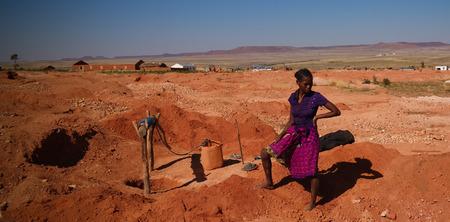 Mining of gems, gold and sapphires - 08 December 2018 Ilakaka Ihosy District, Ihorombe Region, Madagascar