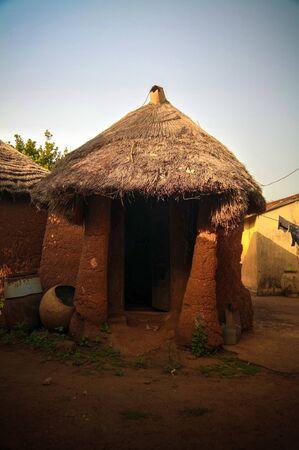Traditional Losso aka Nawdba people village , Doufelgou, Kara region, Togo