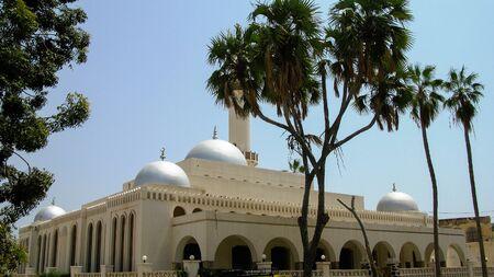 Exterior view to Sheikh Hanafi Mosque in Massawa, Eritrea