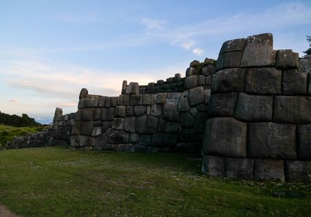 View to Sacsayhuaman  in Cusco, Peru 스톡 콘텐츠 - 133301663
