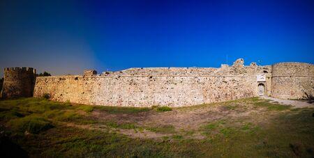 Exterior view to Otello Castle, Famagusta, Cyprus Archivio Fotografico