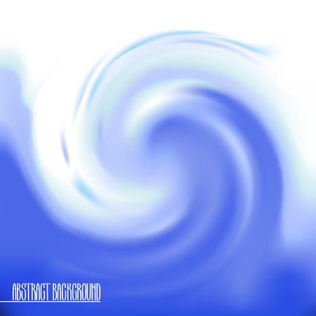 goody: Abstract swirl background in blue colors. Vector wavy design. Ocean wave. Illustration