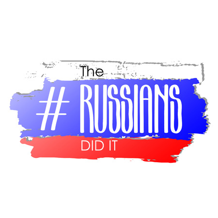 did: The russians did it